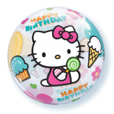 Hello Kitty Birthday Bubble Balloon